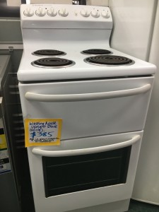 Need a new stove but can't afford $1000 for a quality Westinghouse? Check this one out and give us  a call.